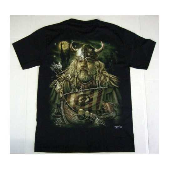 Viking T-shirt - glow in the dark