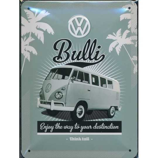 Metal skilt - VW Retro Bulli