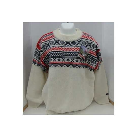 Rund hals - uld sweater