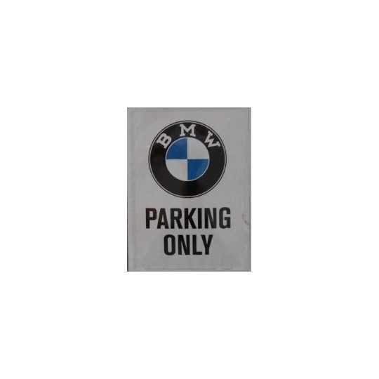 BMW Parkering only