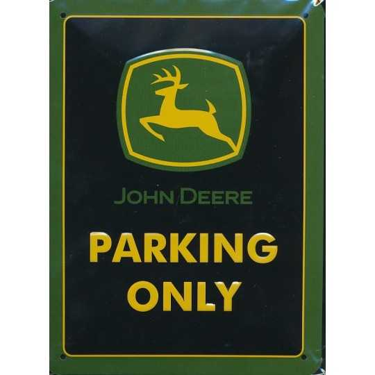 John Deere - Parking only