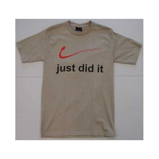 "T-shirt ""Just did it"""