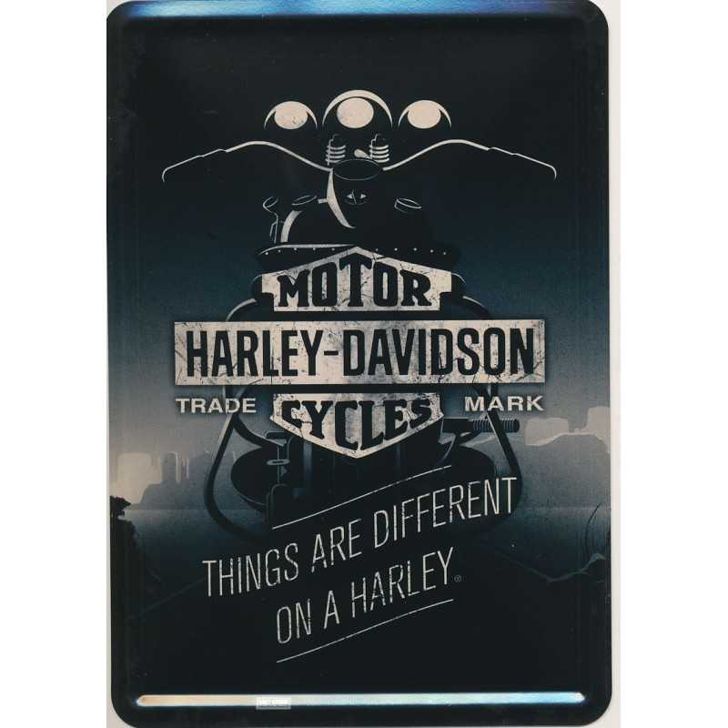 Things are different on a Harley