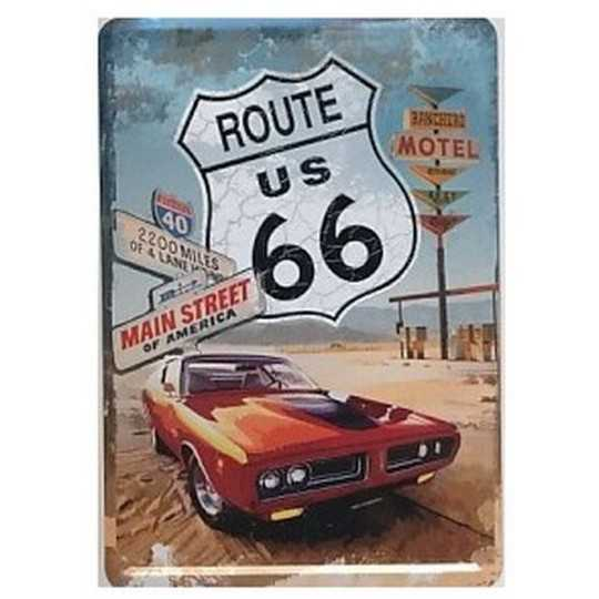 Route 66 Red Car