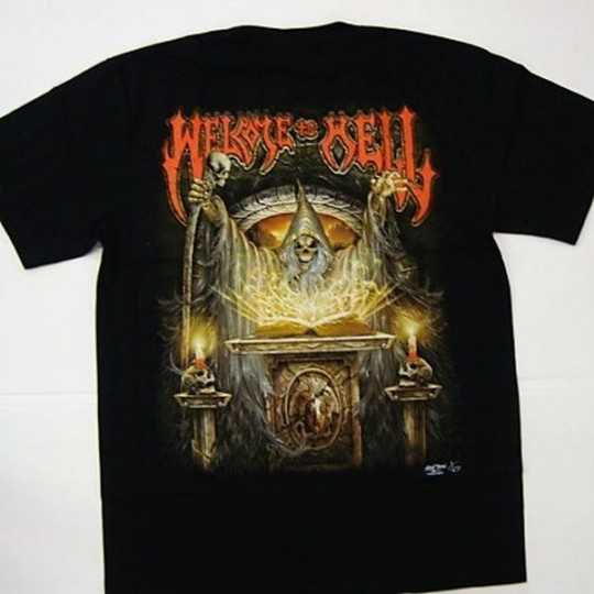 3D print T-shirt - Welcome to hell