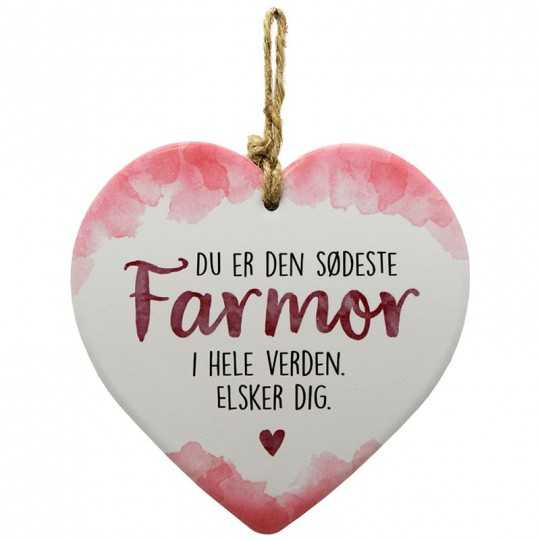 Farmor - message heart